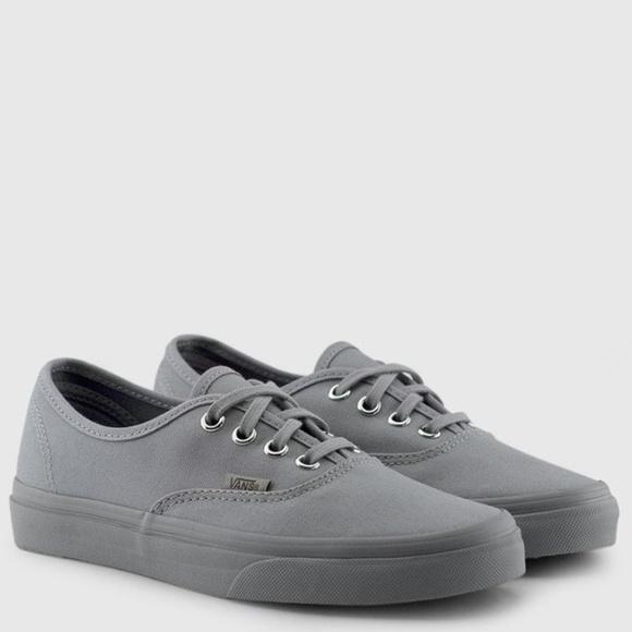 vans mono gray